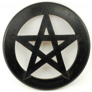 "Pentagram Wall Hanging and Altar Tile 12"""