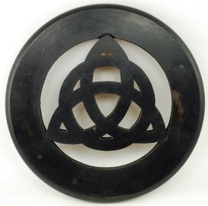 """Triquetra Wall and Altar Tile 12"""""""