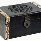 Hecate Triple Pentagram Treasure Chest