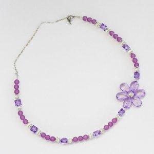 I'm Passionate About Purple Necklace