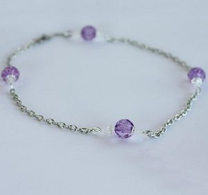 Purple and Perfect Necklace