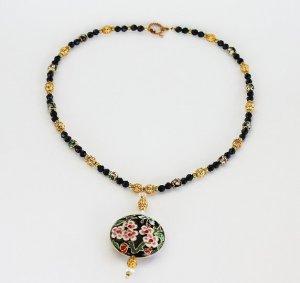 Gorgeous Cloisonne Necklace