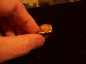 Vanilla Bean Gold Wrap Ring