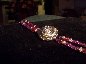 My Favorite Color Button Bracelet