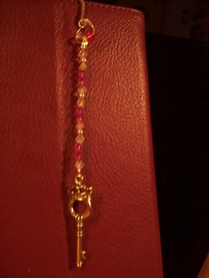 Pink, Purple & Pretty Bookmark