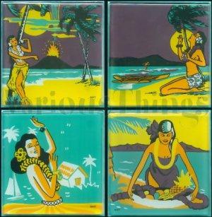 Hula Coasters