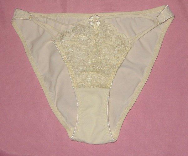 Flamingo lace panties, champagn color, size M(38)