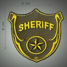 Sheriff embroidered patch