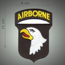 Airborne embroidered patch