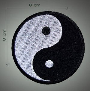 Yng Jang embroidered patch