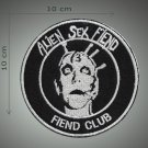 Alien sex fiend embroidered patch