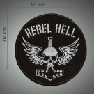Rebel hell embroidered  patch