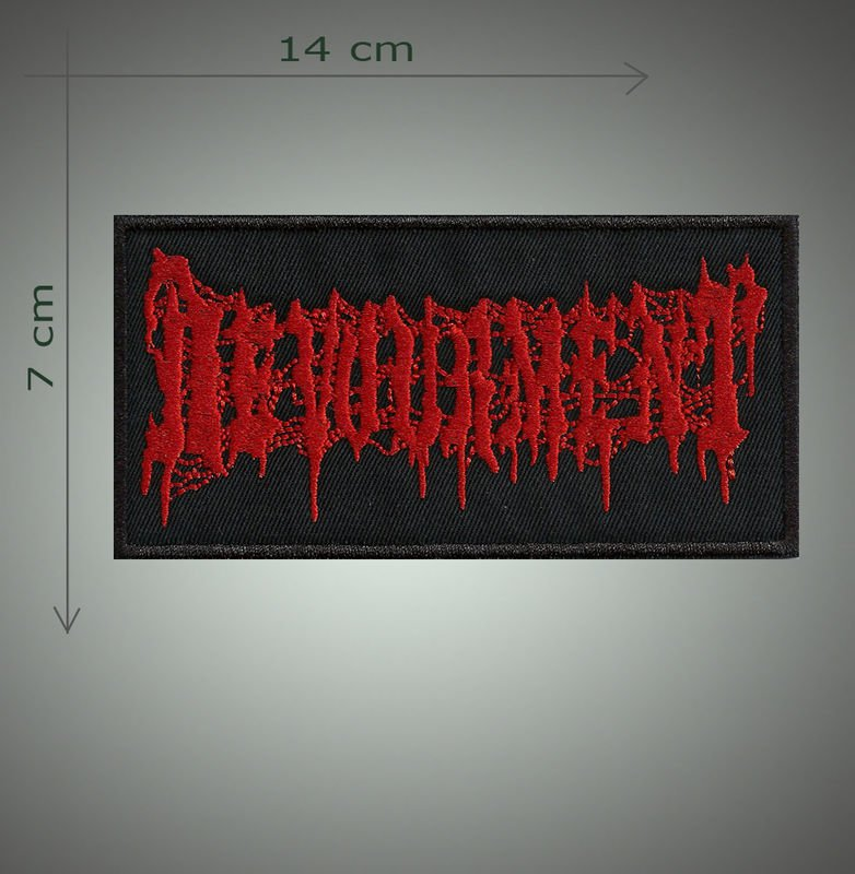 Devournment embroidered patch