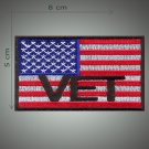 Vet embroidered patch