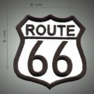 Route 66 embroidered patch