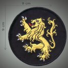 Judah lion embroidered patch