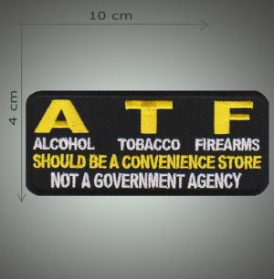 ATF embroidered patch