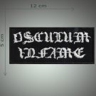 Osculum infame embroidered patch