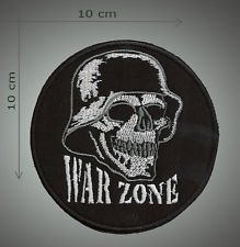 War zone embroidered patch