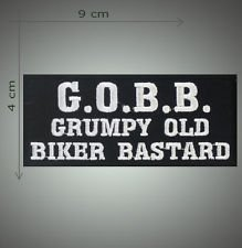 G.O.B.B. embroidered patch