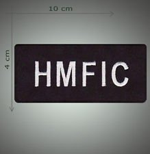 HMFIC embroidered patch