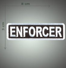 Enforcer embroidered patch