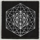 Sacred geometry 3 embroidered patch