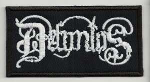 Defuntos embroidered patch