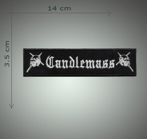 Candlemass embroidered patch