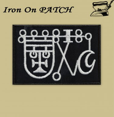 Sigil of Bathin embroidered patch