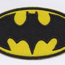Batman logo embroidered patch