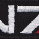 Mass effect N7 embroidered patch