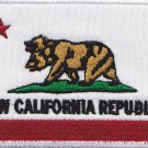 New California republic embroidered patch