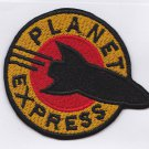 Planet express embroidered patch