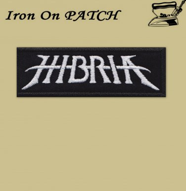 Hibria - embroidered patch, 1,2 X 4 (INCHES)