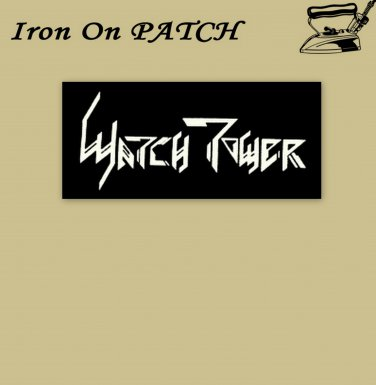 Watch tower - embroidered patch, 1,2 X 3,2 (INCHES)