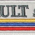 Renault sport - embroidered patch, 1,4 X 4,8 (INCHES)