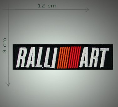 Ralli Art - embroidered patch, 1,4 X 4,8 (INCHES)
