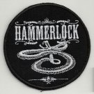 Hammerlock - embroidered patch, diameter 3,2 (INCHES)