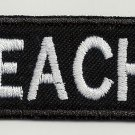 Preacher - embroidered patch, 1,2 X 4,8 (INCHES)