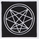 Order Of Nine Angles - embroidered patch, 3,2 X 3,2 (INCHES)