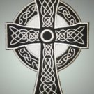 Celtic cross - embroidered back patch, 8,6 X 12 (INCHES)