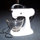 Kitchen Aid Kitchenaid Mixer Model 3B With Bowl and Whisk Works Vintage Hobart