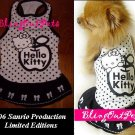 Hello Kitty Dog Cat  Dress Clothing