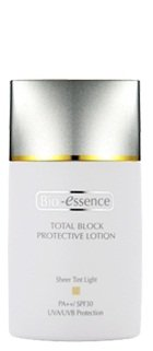 Bio-Essence Total Block Protective Lotion SPF30 SPF 30 Sheer Tint Light 40ml Bioessence