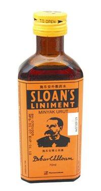 Sloan Sloan�s Liniment 70ml / 2.36oz Relief Muscle pain, sprains.