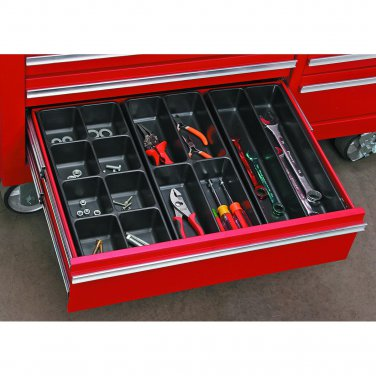 3 Piece Toolbox Drawer Organizer Keep tools easily accessible