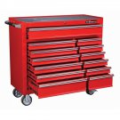 44 inch rolling 13 Drawer Tool Chest Gloss Red  NEW