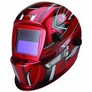 Auto Darkening Welding Helmet With Racing Stripe Design