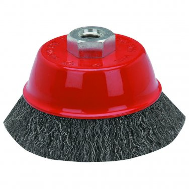 3 In. Crimped Wire Cup Brush